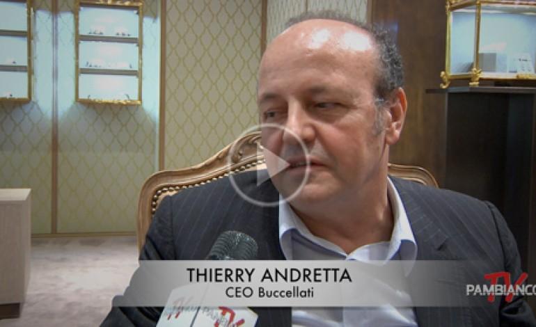 """Andretta: """"Buccellati triplicherà in cinque anni"""""""