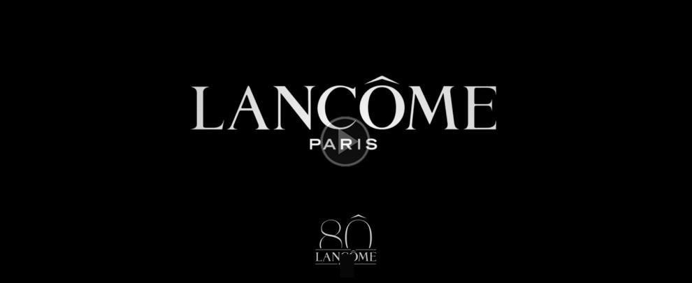 """Lancôme, 80 anni di bellezza ed eleganza """"à la française"""""""