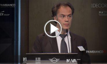 """""""Alla ricerca della dimensione per competere nel mercato globale"""" - Intervento David Pambianco"""