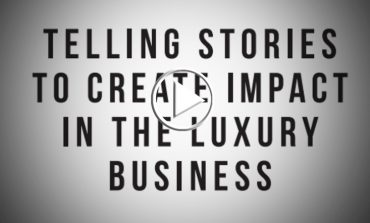 """Convegno Pambianco_Facebook """"Telling stories to create impact in the luxury business"""""""