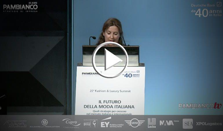 """""""Il futuro della moda italiana"""" - Francesca di Pasquantonio"""