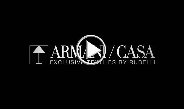 Armani/Casa e Rubelli insieme nel tessile
