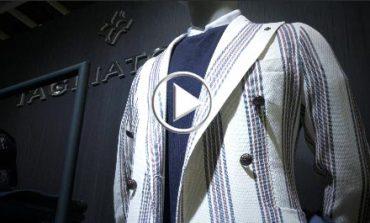 Tagliatore studia un negozio a Milano