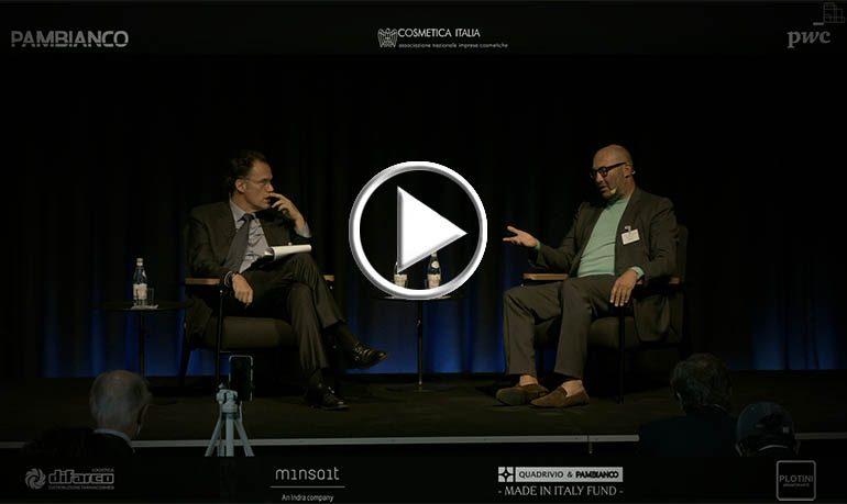 Il sistema della cosmetica e la sfida della ripresa - Davide Bollati