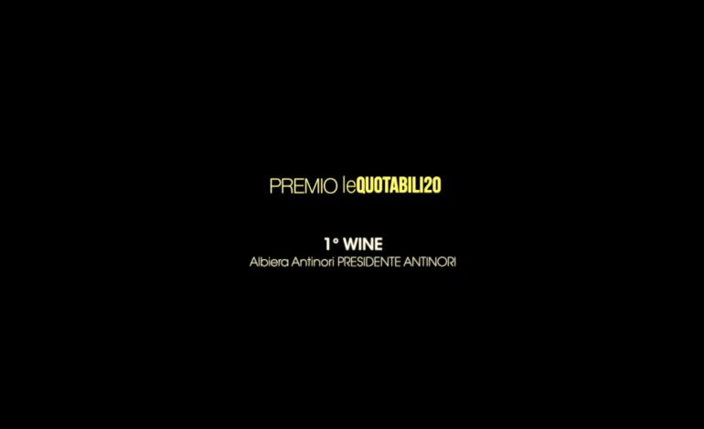 1°Wine - Albiera Antinori